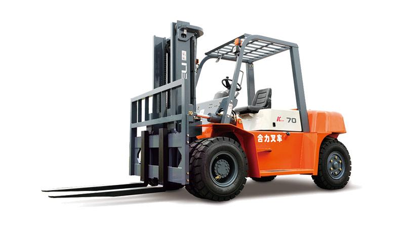 安徽合力K系列 5-7吨柴油平衡重式叉车高清图 - 外观