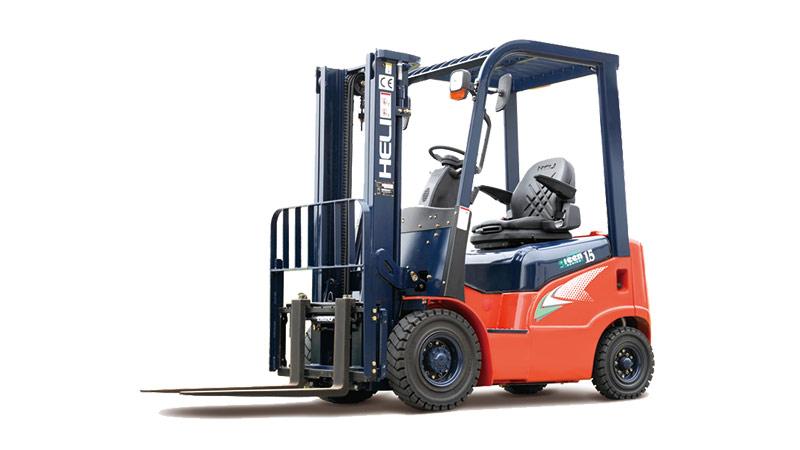 安徽合力G系列 1-1.8吨柴油/汽油/液化气平衡重式叉车高清图 - 外观