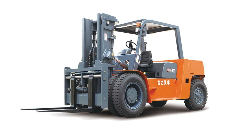 安徽合力H2000系列 6/8/10吨柴油平衡重式进箱叉车高清图 - 外观