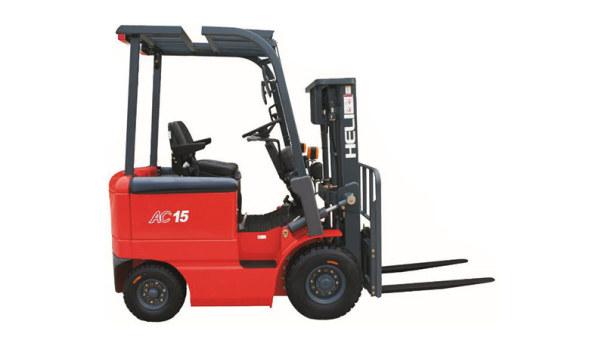 安徽合力四支点 H系列1-1.5吨窄车身蓄电池平衡重式叉车