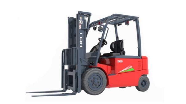 安徽合力四支点 G系列3-3.5吨蓄电池平衡重式叉车