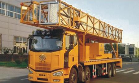 宇通重工YTZ5311JQJ11D522HP电动大跨度桥梁检测车高清图 - 外观