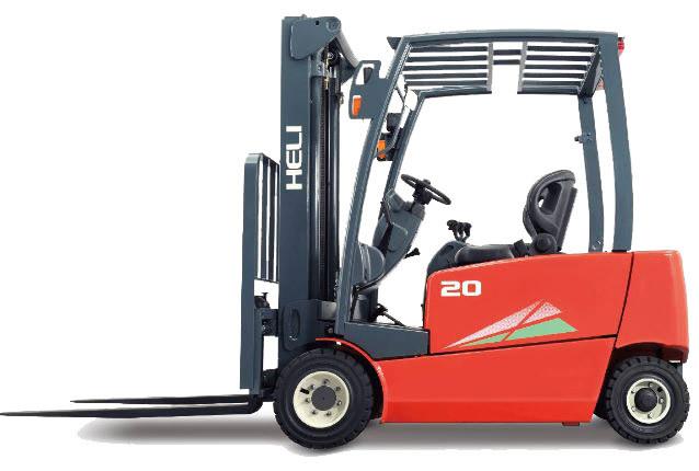 安徽合力四支点 EFG 1.6-2T前轮双驱四轮蓄电池平衡重式叉车