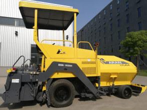 镇江阿伦LTL45型轮胎式沥青混凝土摊铺机高清图 - 外观