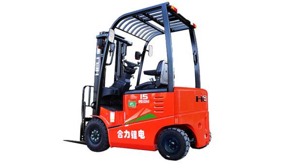 安徽合力G系列 1-1.8吨锂电池平衡重式叉车