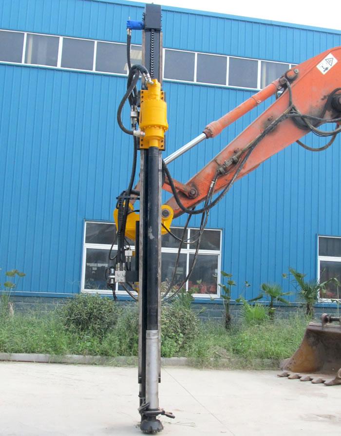 瑞山RSQK-90系列挖改潜孔凿岩钻机高清图 - 外观