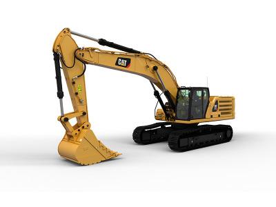 【720°全景展示】新一代Cat®(卡特)345 GC大型挖掘机