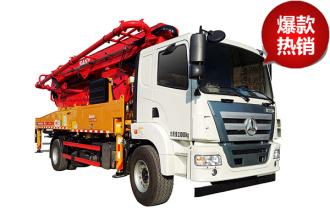 三一重工C8系列37米混凝土泵车高清图 - 外观