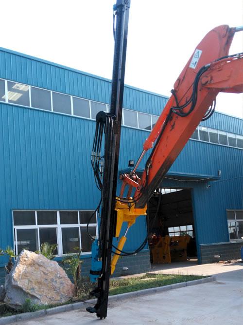 瑞山RS-90挖改液压凿岩钻车高清图 - 外观