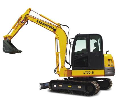 洛阳路通LT70-6履带式液压挖掘机