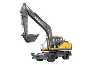 勤牛QNLW220轮式挖掘机高清图 - 外观
