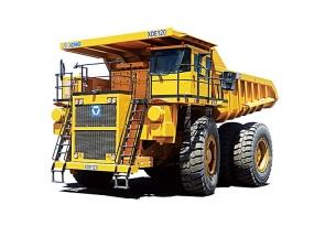 徐工XDE120电传动自卸车