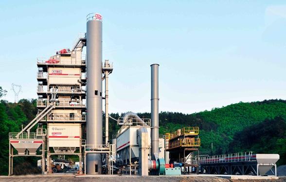 中交西筑SG3000型环保沥青混合料搅拌设备