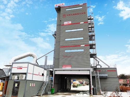 中交西筑SG5000型环保沥青混合料搅拌设备