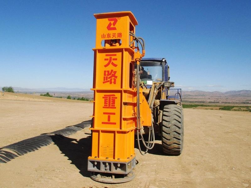 天路重工TRA40高速液压夯实机