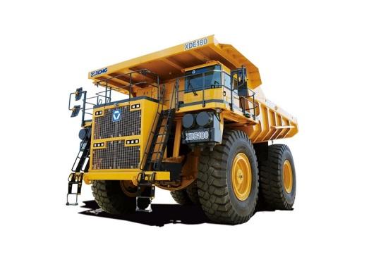 徐工XDE180电传动自卸车