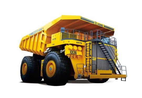 徐工XDE360电传动自卸车