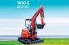 欧利德W30-5微型无尾挖掘机