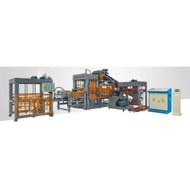 柳氏机械LS6-15全自动彩砖成型