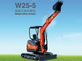 欧利德W25-5微型无尾挖掘机