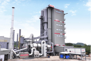 中交西筑SG4000型环保沥青混合料搅拌设备