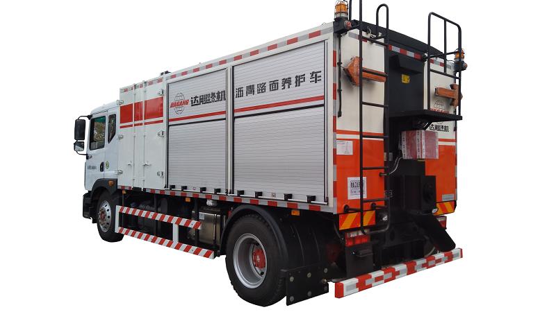 达刚路机DGL5163TYH-055(国V)沥青路面养护车高清图 - 外观