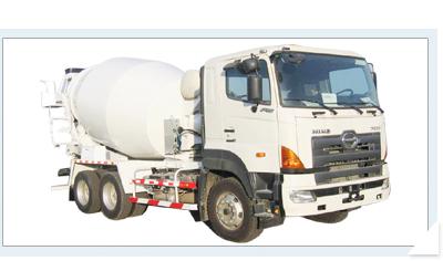 海诺HNJ5259GJBA (8方)混凝土搅拌运输车