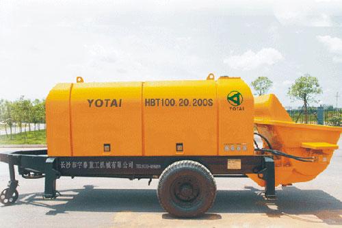 宇泰HBT100.20.200S拖泵