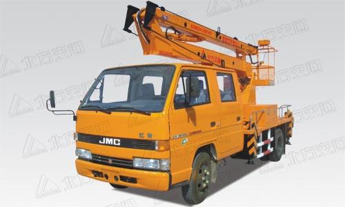 北方交通10米折臂式江铃高空作业车