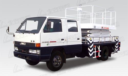 北方交通9米剪叉式庆铃高空作业车
