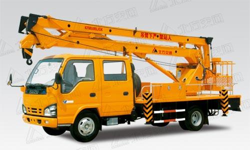 北方交通16米折臂式庆铃高空作业车