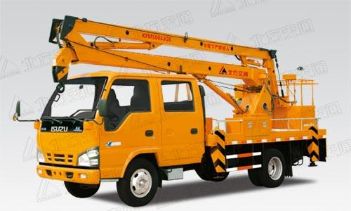北方交通14米折臂式庆铃高空作业车