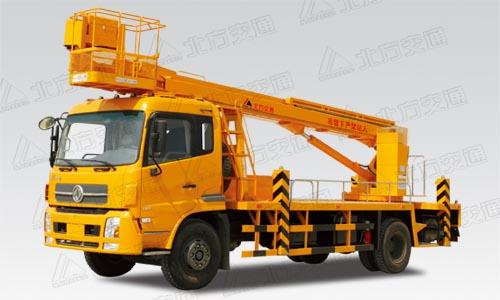 北方交通28米直臂式东风高空作业车