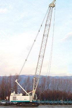 卡萨阁蓝地C600履带吊