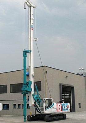 卡萨阁蓝地B125 XP全液压旋挖钻机