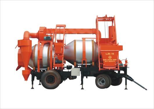 欣融LJB-10沥青搅拌设备