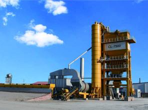 北京加隆CL-7500瀝青混合料攪拌設備高清圖 - 外觀