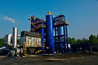 陆德ZLD240/80沥青混合料再生设备沥青搅拌设备高清图 - 外观