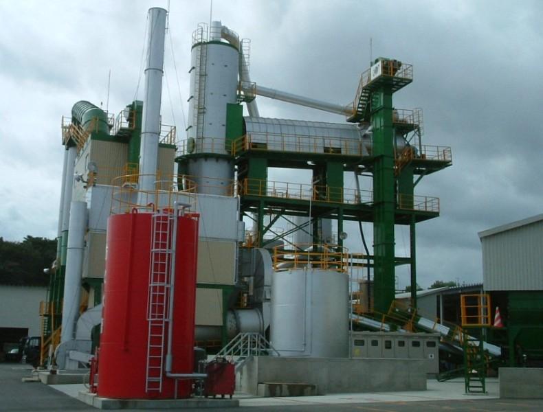 日工A-TOPα 60沥青混凝土再生设备