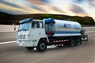 山东奥邦SX5200GLQ型10吨智能沥青洒布车