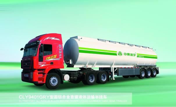 凌宇汽车CLY9401GRYD化工液体运输车