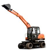 鑫豪XH70L-8轮胎式液压挖掘机