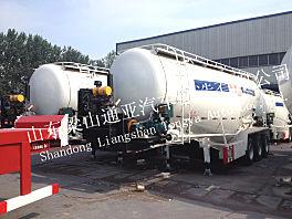 通亚汽车CTY9408GXH散装水泥运输车