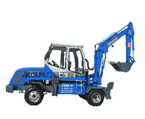 欣安远AWL6535-3轮式挖掘机