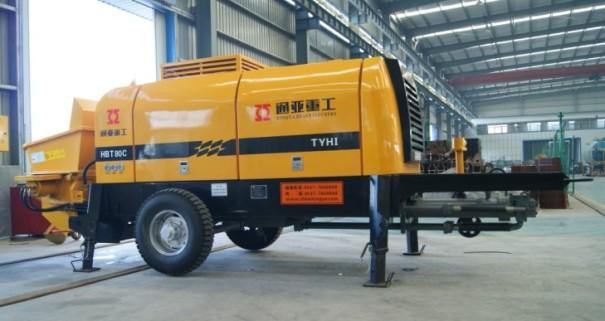 通亚汽车HBT80C-1816-110拖泵