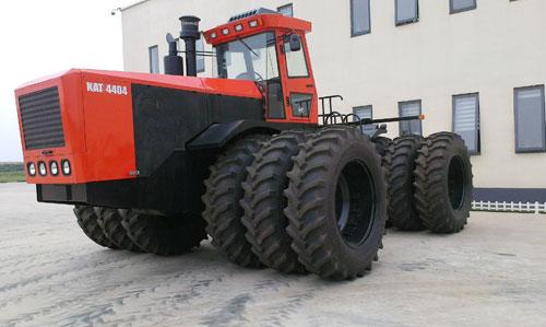 凯尔4404轮式拖拉机高清图 - 外观
