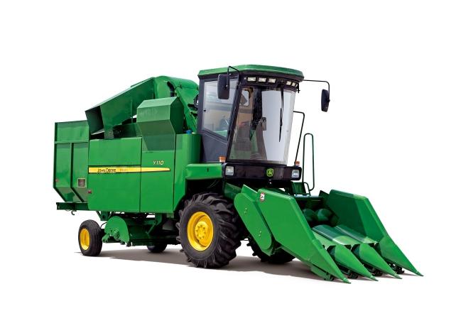 约翰迪尔农机Y110玉米收获机高清图 - 外观