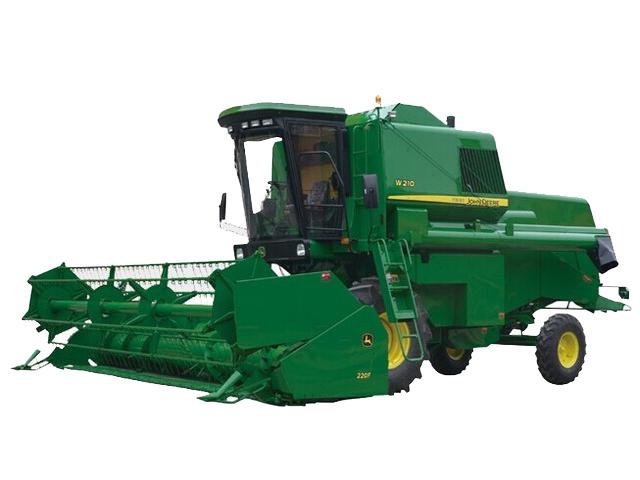约翰迪尔农机W210谷物收割机高清图 - 外观