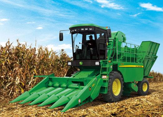 約翰迪爾農機Y215玉米收獲機