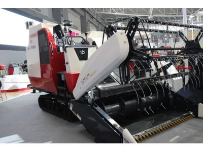 洋马农机4LZ-1.8A谷物收割机高清图 - 外观
